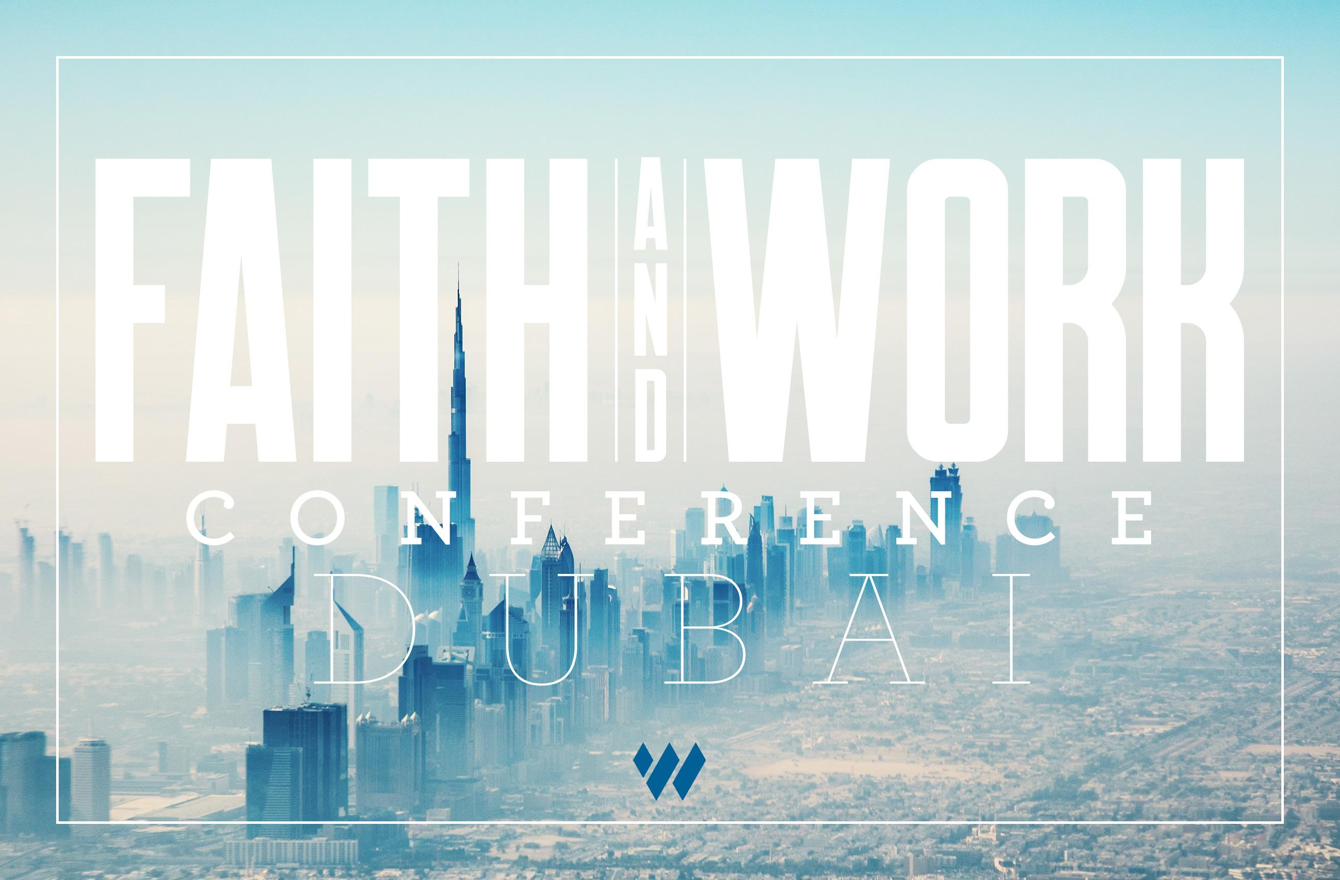 Faith and Work Conference