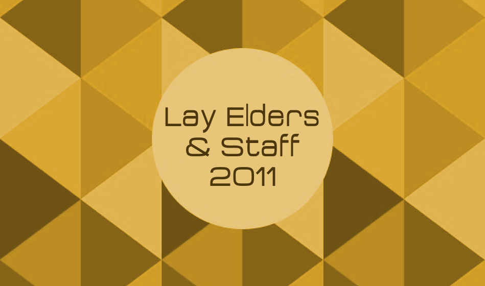 Lay Elders & Staff 2011