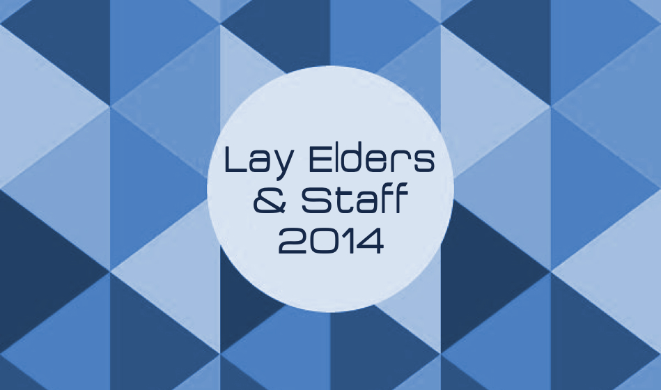 Lay Elders & Staff 2014