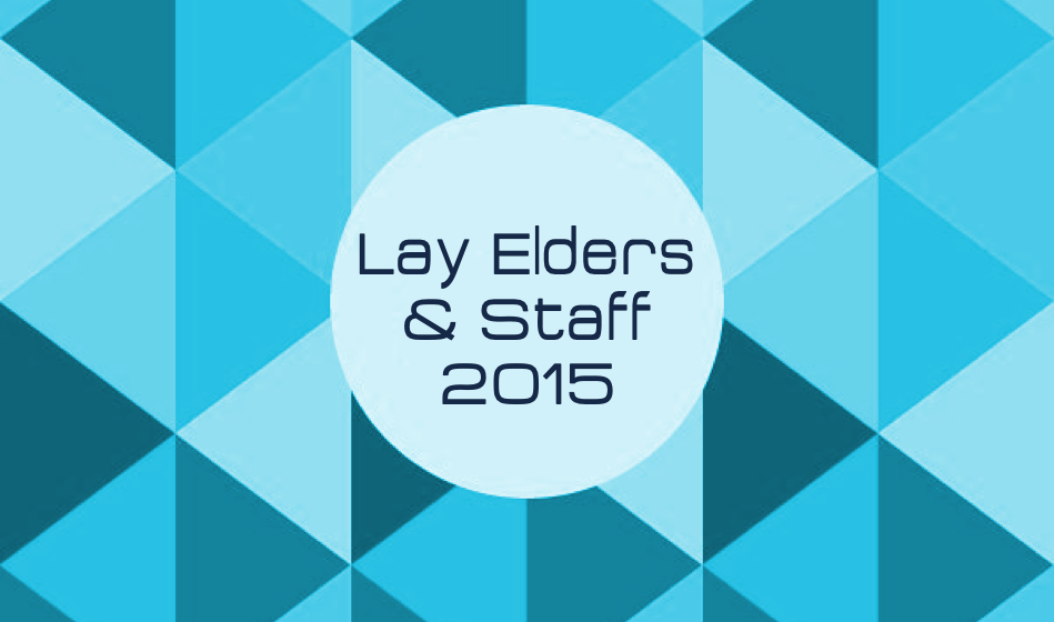 Lay Elders & Staff 2015
