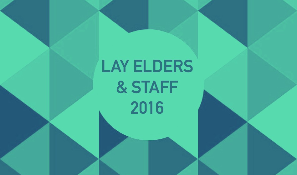 Lay Elders & Staff 2016